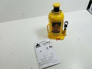 Torin TH92004X JackBoss Hydraulic Welded Bottle Jack: 20 Ton (40,000 lb)