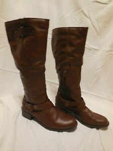 Delta Cognac Boots by SO ~ size 10M. Only worn twice, practically new!!