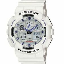 Crazy Deal New G-Shock GA100A-7A White Analog-Digital Big Case Men's Watch