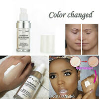 30ml Color Changing Foundation Makeup Base Face Liquid Cover Concealer