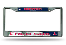 Boston Red Sox Metal Chrome License Plate Frame Auto Truck Car MLB