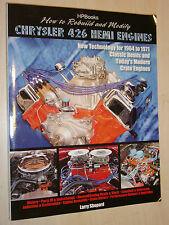 How to Rebuild & Modify Chrysler 426 Hemi 1964-71 & V8 Crate Engines Manual Book