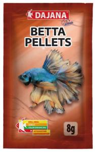 OOD Dajana Betta floating pellets for fighting fish - 8g sachet - BBE 5/21