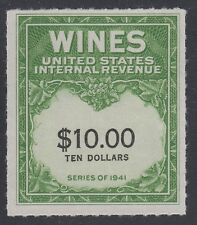 U.S., 1949. Wine Tax Stamp RE180, Mint, NH