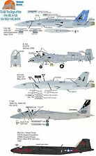 Boeing Military Aircraft Model Kit Decals
