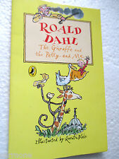 ROALD DAHL The Giraffe and the Pelly and Me MINI Puffin paperback