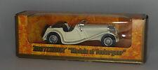 Matchbox Y-1-3-5 1936 Jaguar SS-100 en blanco en escala 1:38