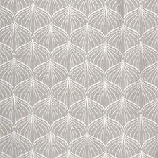 Au Maison hochwertiges Wachstuch mit Grafik-Muster, in grau und cremeweiss 0,5M