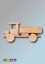 Camion legno in di faggio AUTOCARRO AUTO CARRETTO l320xb130xh160