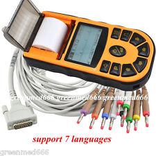 USA FDA Portable Digital 1-channel Handheld Electrocardiograph ECG EKG Machine
