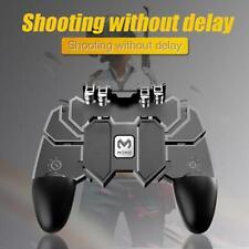 AK66 Six Finger Game Controller Trigger Shooting Gamepad for PUBG Mobile Plastic
