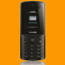 Philips Xenium X130 FM MP3 LED Portable Charge Dual SIM Standby GSM Cell Phone