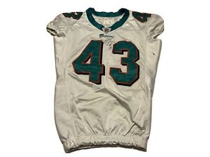 NFL Miami Dolphins Game Worn Practice Signed NFL Jersey #43 04-44 NFL OTA