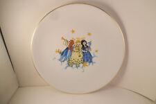 Vintage CM Hutschenreuther Hohenberg Germany Decorative Plate Christmas Angels