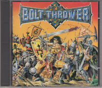 Bolt Thrower 1991 CD - War Master - Memoriam/Benediction/Asphyx First Press. OOP