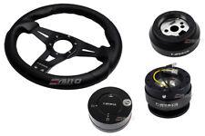 NRG 320 Sniper L Steering Wheel BK St CF S 170H Hub Gen2 Black Release Lock LB b