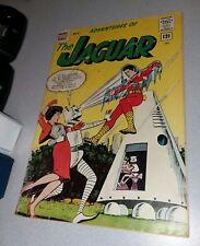ADVENTURES OF THE JAGUAR #9 mighty archie comics 1962silver age impact robots