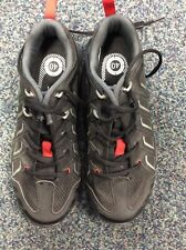 Shimano MT34 SPD Shoes, size 40, with cleats, Black/Red,