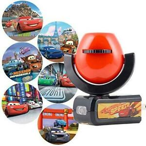 Projectables, 6-Image, Cars LED Night Light, Plug-In, Dusk-to-Dawn, for Kids,