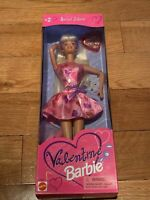 1997 BARBIE #17649-VALENTINE EDITION-MATTEL-NEW IN BOX--BLONDE