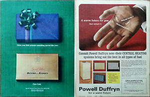 Benson & Hedges Make Your Little Present Something Special Christmas Advert 1964