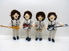 Beatles Dolls Karité Stade Gray Nehru Suits by APPLAUSE US 1989 extremly rare