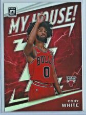 2019-20 Donruss Optic Basketball Coby White Rookie My House Silver Holo Rc # 9