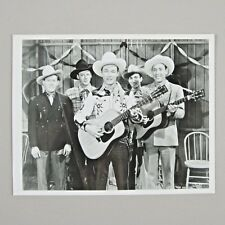 Roy Rogers 1930s SONS OF THE PIONEERS 8x10 B&W Glossy Photo