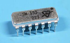 Sylvania SM153 SM 153 IC Frequency Divider Vintage All Metal Chip Rare  NOS