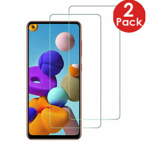 2X Tempered Glass Screen Protector For Samsung Galaxy A41 A21s S10 Lite 2020 A11