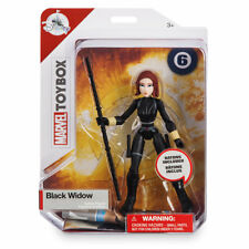 Disney Store Black Widow Action Figure Marvel Toybox Free Shipping
