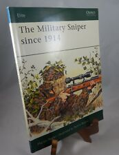 Elite: The Military Sniper since 1914 Paperback Book by Martin Pegler 2001