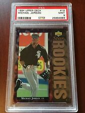 *HOT CARD* MICHAEL JORDAN Baseball ROOKIE 1994 Upper Deck #19 PSA 9 - MINT