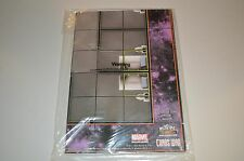 Marvel Heroclix Chaos War Negative Zone Prison & Avengers Mansion Grounds Maps
