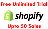 UNLIMITED Shopify Trial ⭐️ No time limit ⭐️All features ⭐️ Don't pay $29/m