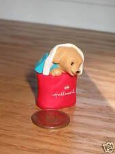 Hallmark Merry Miniature 1994 Christmas Puppy in Tote Bag KOC Renewal Bonus
