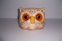 VINTAGE RETRO CERAMIC OWL EYE GLASSES HOLDER
