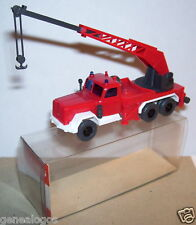 WIKING HO 1/87 TOW TRUCK CAMION DEPANNEUSE MAGIRUS URANUS KW 15 POMPIERS in BOX