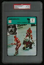 PSA 8 HELMUT BALDERIS 1978 Finnish Sportscaster Hockey Card #1113 (None Higher)