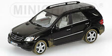 MINICHAMPS 2005 Mercedes ML Class (Mud) Black LE 1632pcs 1:43 (Almost Sold Out)