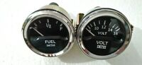 "Smiths Replica 52 mm 2 1/16"" Volt Gauge+ Fuel gauge"