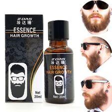 New  3pcs Beard Growth Oil for men Leg hair Pubic Chest Mustache Thicker Essence