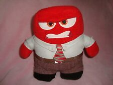 """Disney Store Inside Out ANGER Plush 9"""" tall"""