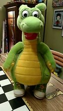 """1994 Adventures of Dudley the Dragon Tales 14"""" Plush Kids TV Cartoon standing"""