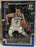2017-18 Donruss Optic Blue Velocity Prizms #13 Jeremy Lin Nets Mint-Gem Mint?