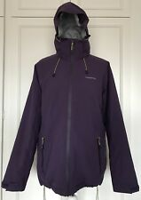 WOMENS CRAGHOPPERS AQUADRY STRETCH WARM TECHNICAL PURPLE JACKET SIZE 14