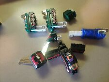 1997 Transformers Toy Train Parts Lot Leader Shines 7 Pieces
