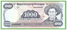 NICARAGUA - 1000 CORDOBAS - 1984 - P-143  - UNC - REAL FOTO