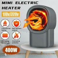 110V/220V 400W Ptc Portable Chaud Air Souffleur Mini Électrique Radiateur Home