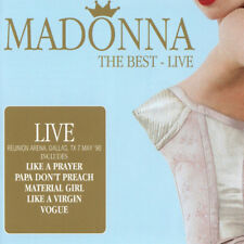 Madonna : The Best: Live CD (2016) ***NEW***